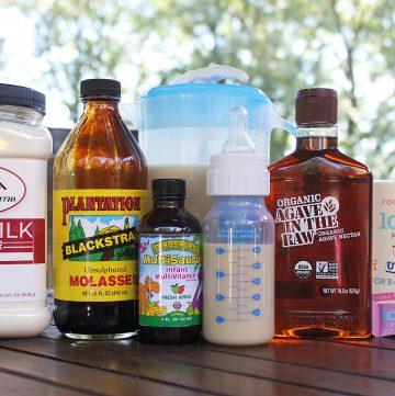 Homemade Infant's Goat Milk Formula