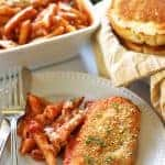 One-Pan Baked Chicken Parmesan & Penne