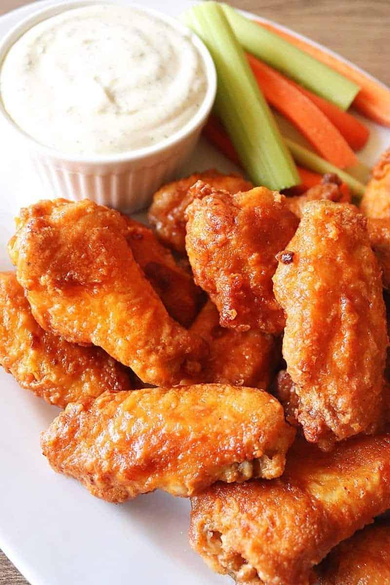 Air Fryer Hooter's Chicken Wings Copycat Recipe