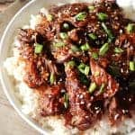 Instant Pot Korean BBQ Beef Short Ribs