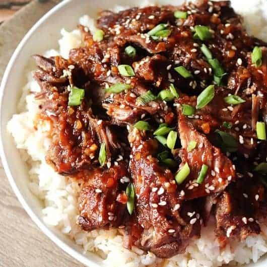 Instant Pot Korean BBQ Beef Short Ribs