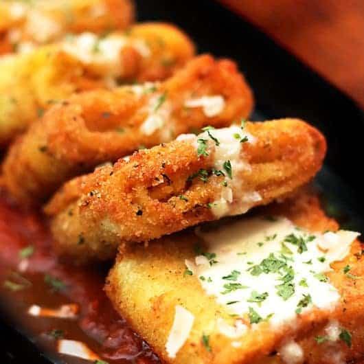 Air Fryer 5 Cheese Lasagna Fritta