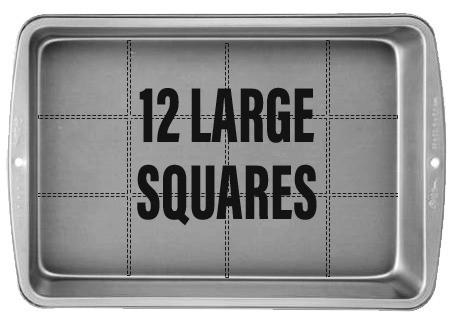 12 Large Squares