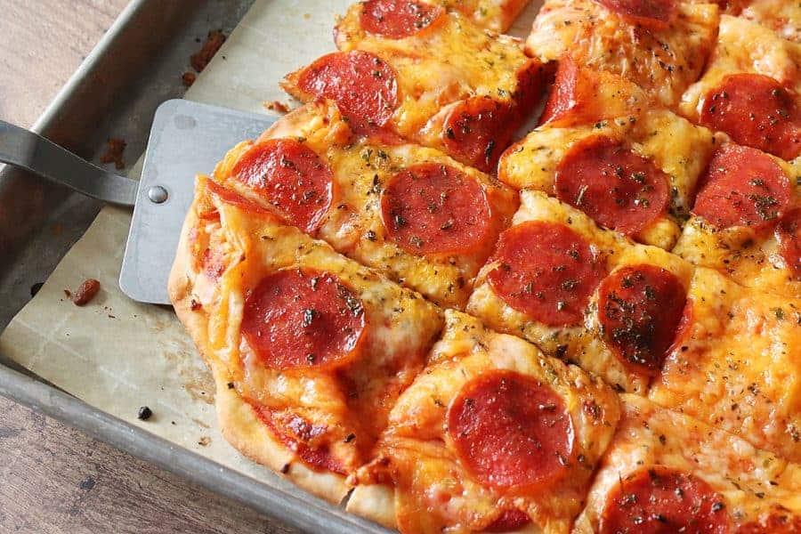 Crispy No-Rise Pizza Crust