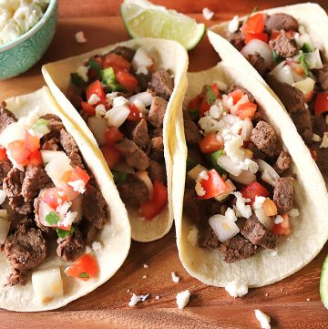 Instant Pot Street-Style Beef Tacos