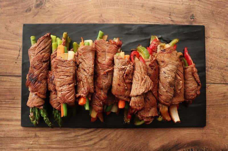 Beef Roll-Ups - 3 Ways