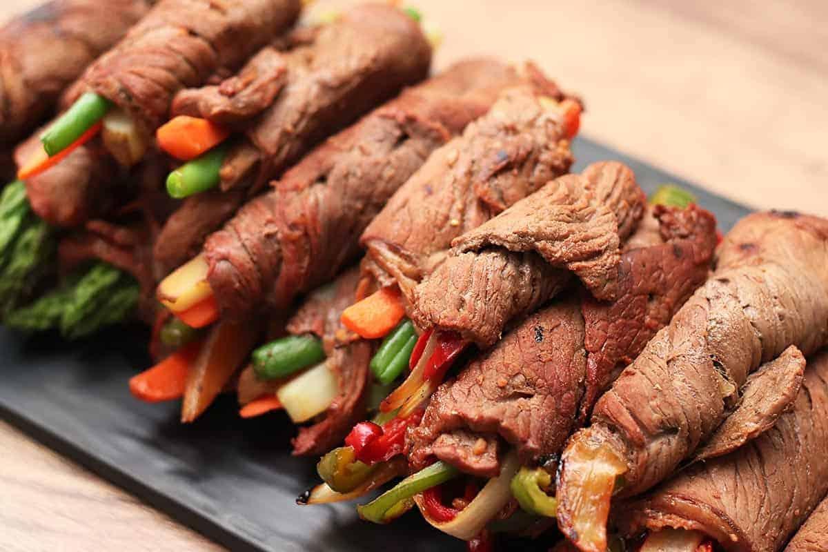 Beef Roll-Ups 3 Ways