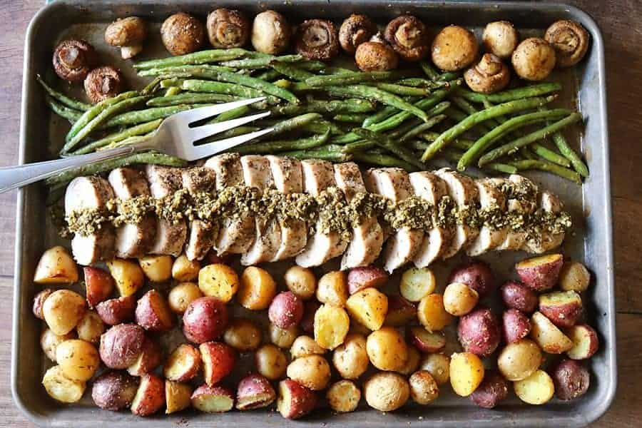 Sheet Pan Italian Pork Tenderloin and Vegetables