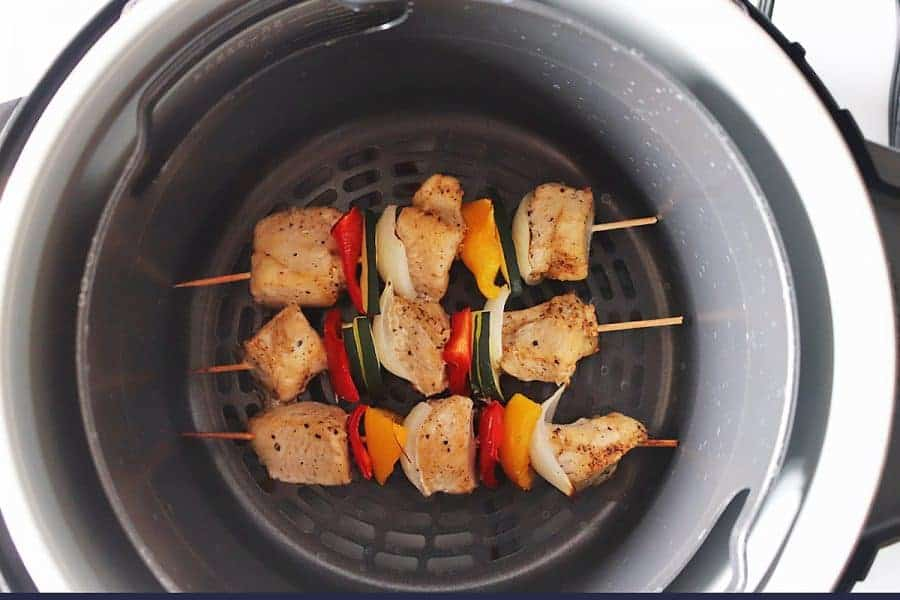 Cooked Chicken Kabob