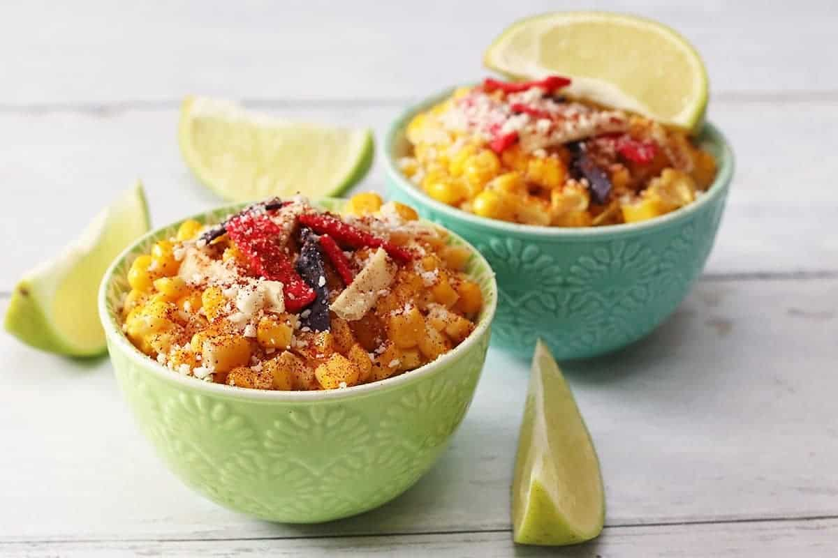 Mexican Street Corn in a Cup (Esquites)