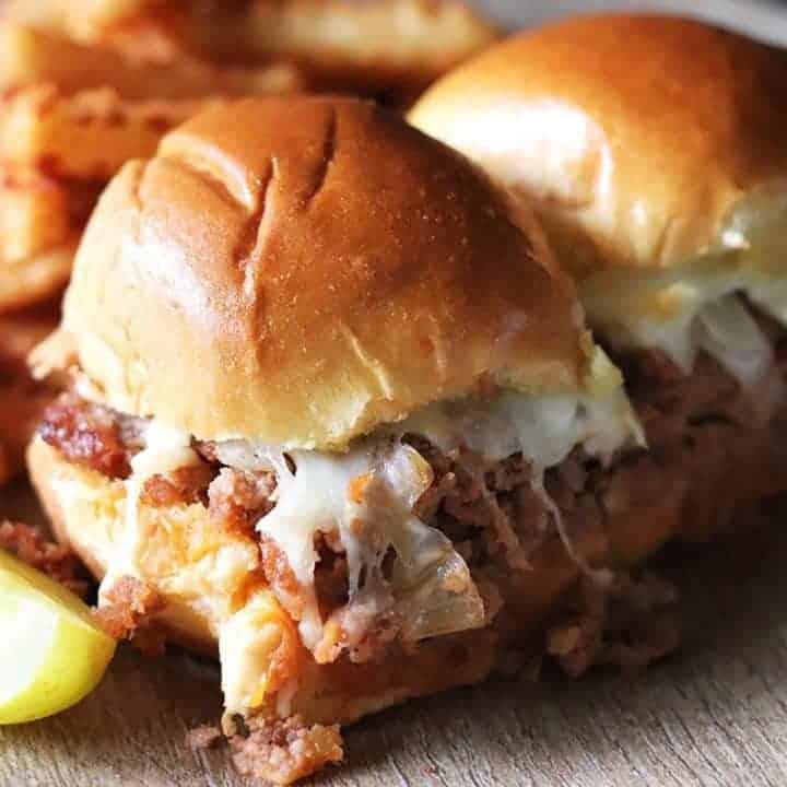 BBQ Pork Burger Sliders