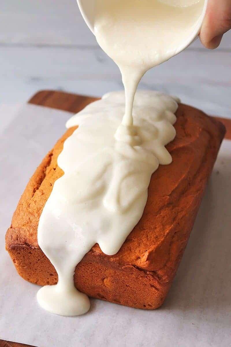 Iced Pumpkin Bread