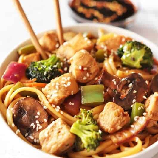 Chicken Stir Fry with Broccoli