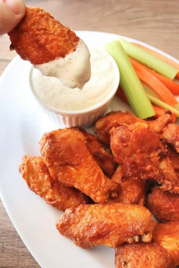 Air Fryer Hooter's Chicken Wings Copycat Recipe