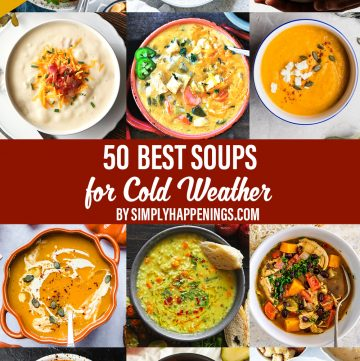 50 Best Soups for Cold Weather
