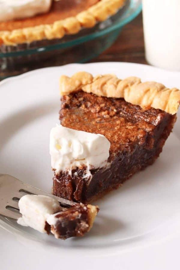 Minny's Chocolate Pie