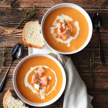 Easy Lobster Bisque