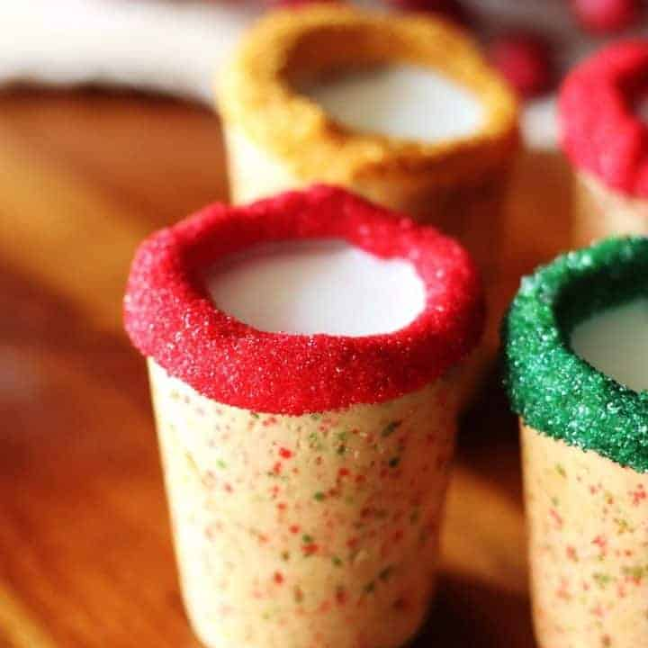 Christmas Sugar Cookie Shots