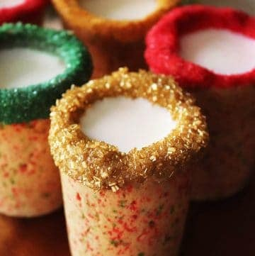 Christmas Sugar Cookie Shots