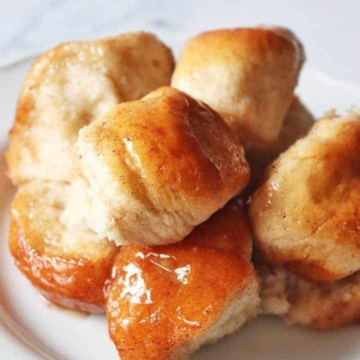 Honey Cinnamon Butter Monkey Bread