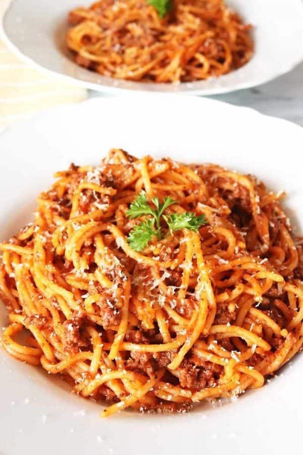 The Best Instant Pot Spaghetti