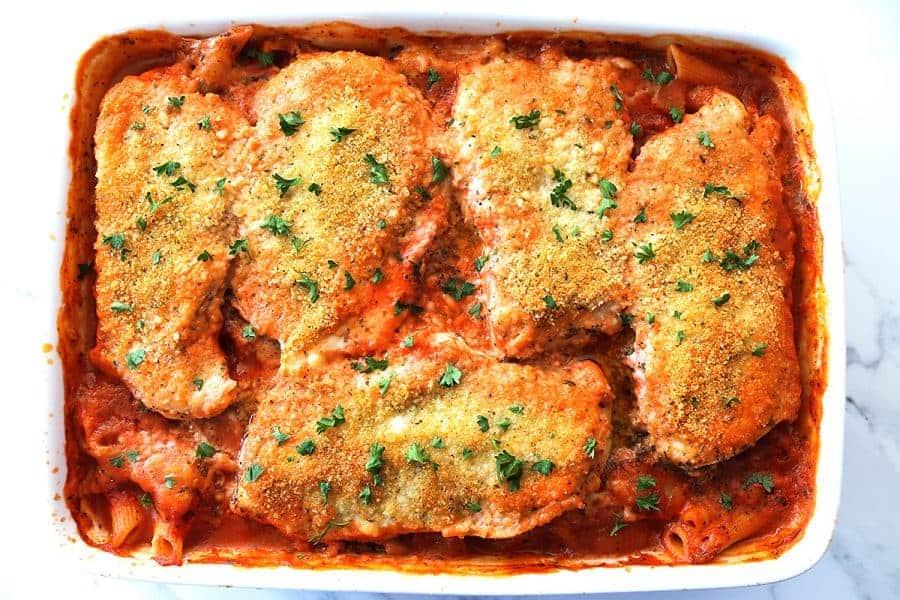 Baked Chicken Parmesan