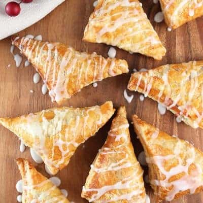 Cherry Puff Pastry Turnovers