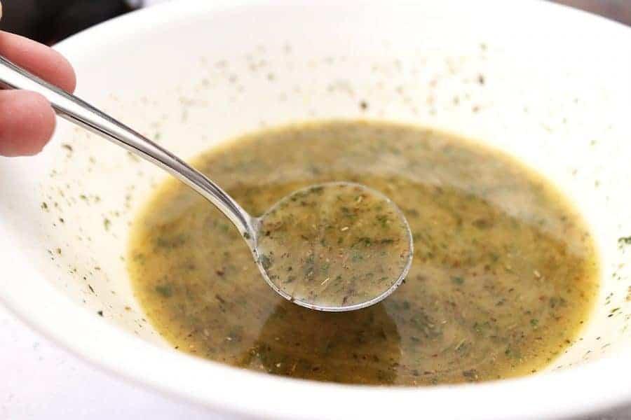 Zesty Italian Sauce in a Bowl