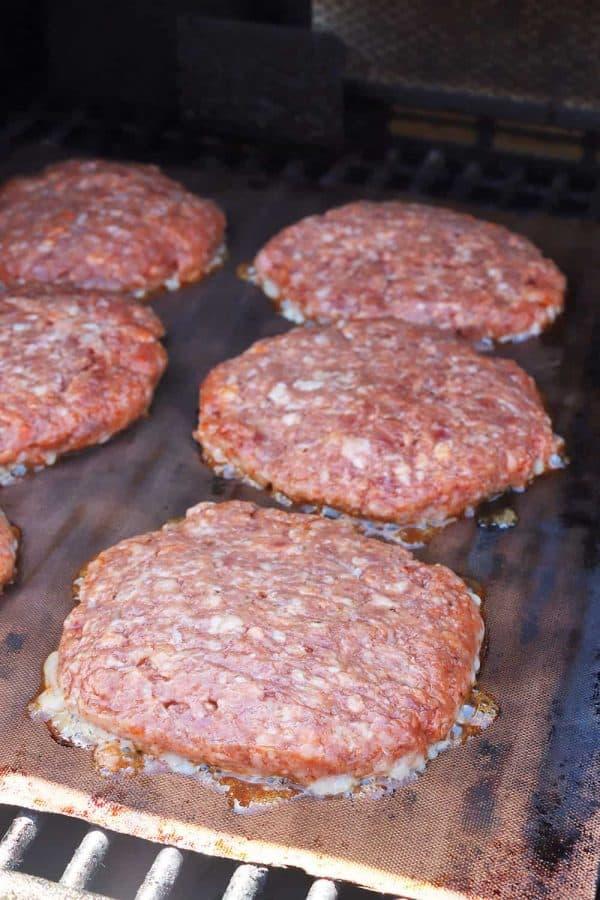 Grandpa's BBQ Pork Burgers