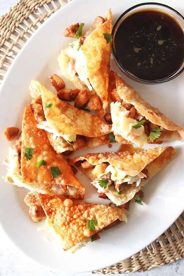 Applebee's Chicken Wonton Tacos