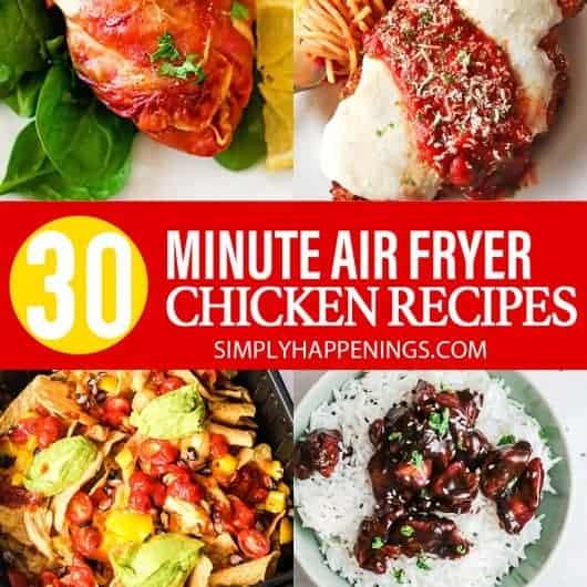 30 Minute Air Fryer Chicken Recipes