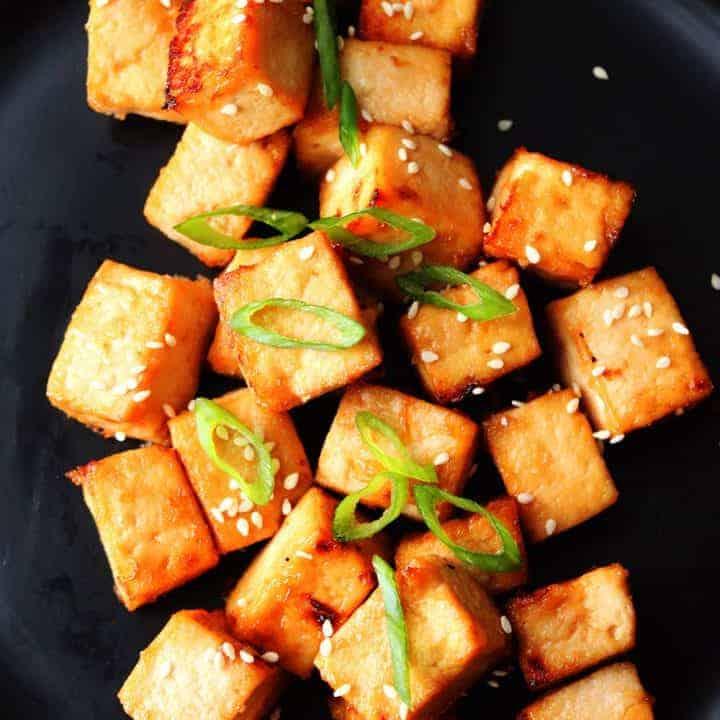 Air Fryer Teriyaki Tofu