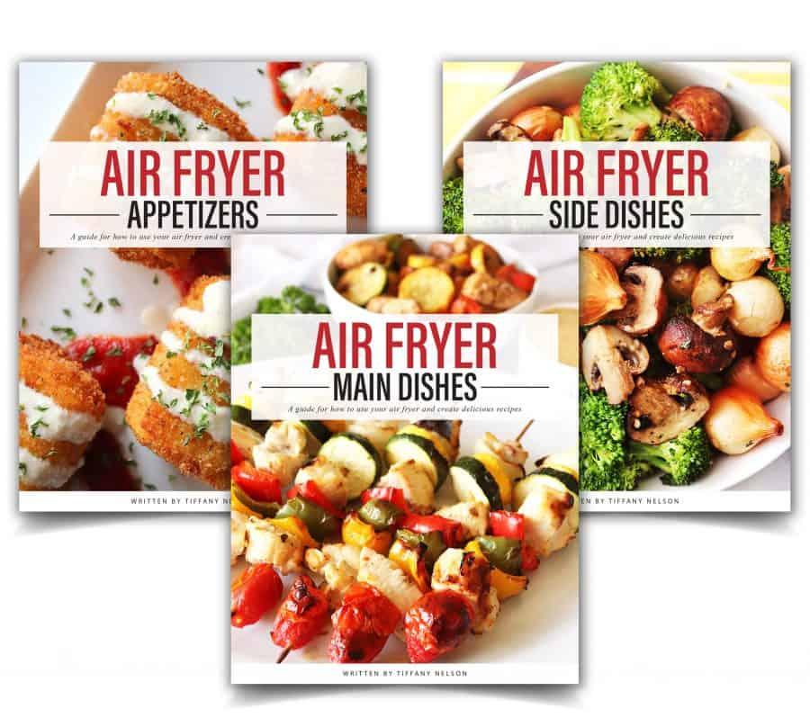 Air Fryer Cookbook Trio