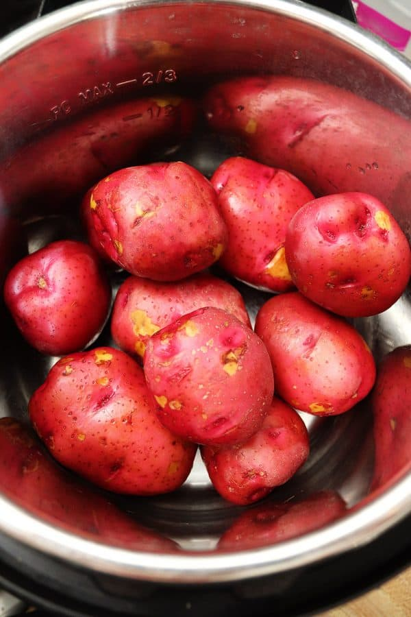 Red Skinned Potatoes in Instant Pot