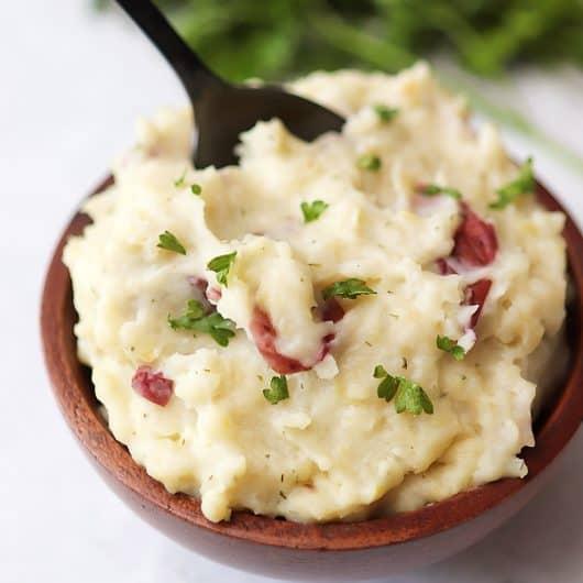 Instant Pot Garlic Mashed Potatoes